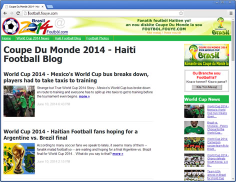 Haiti Football Blog