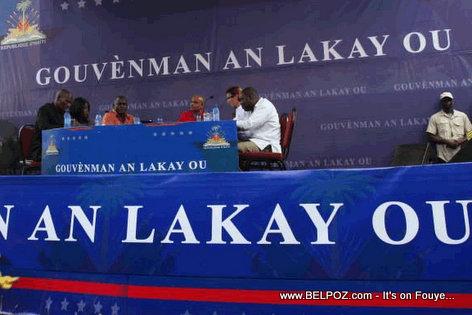 Haiti - Gouvenman Lakay Ou