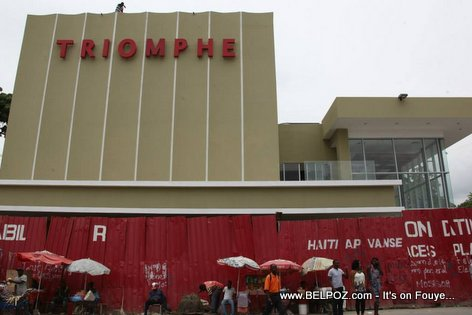 PHOTO: Haiti - Cine Triomphe Preske Pare