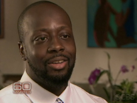 Wyclef on 60 minutes