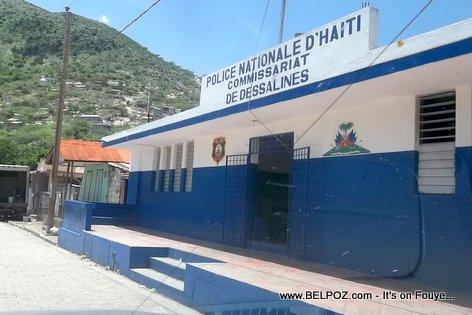 Haiti Police Nationale - Commissariat de Marchand Dessalines