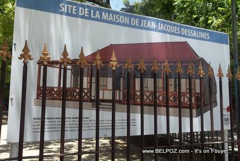 PHOTO: Haiti Reconstruction - Site de la Maison de Jean-Jacques Dessalines a Marchand Dessalines