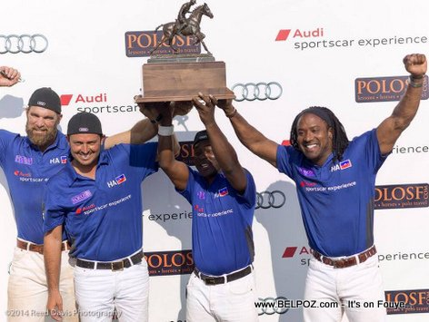 PHOTO: Haiti POLO Team - CHAMPIONS at San Fransisco International Polo Tournament