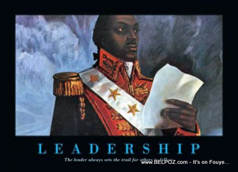 Toussaint Louverture - Leadership Poster