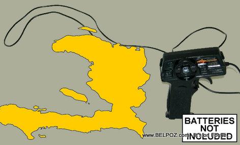 Haiti tankou yon ti jwèt a batri - Haiti is like a little remote controlled toy