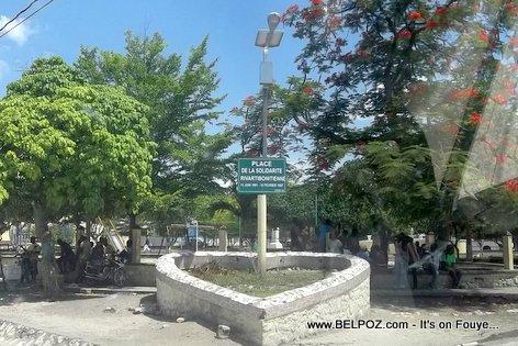 PHOTO: Haiti - Place de la Solidarite Rivarbonitienne, Petite Riviere de l'Artibonite