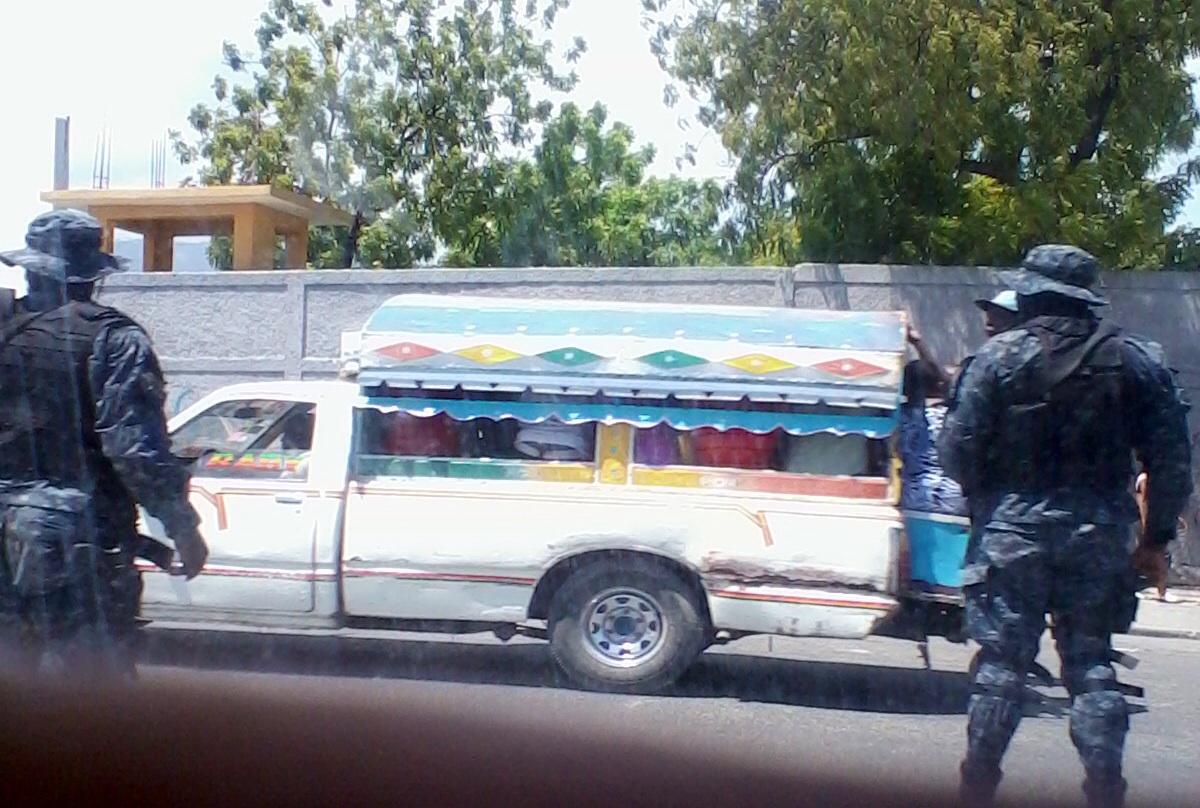 PHOTO: Haiti - Police increase security in the capital Port-au-Prince