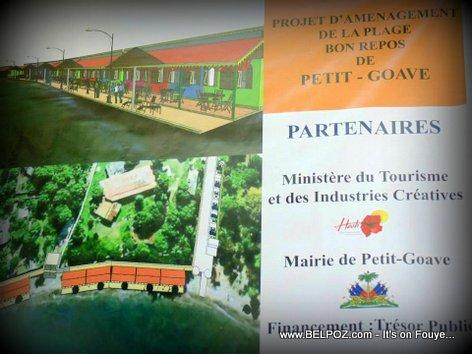 PHOTO: Haiti Tourisme - Plage Bon Repos nan Petit-Goave pwal vini pi bèl
