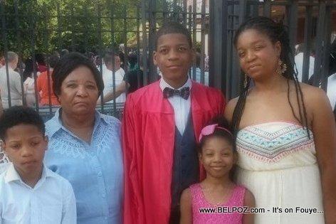 PHOTO: Myriam Lebrun and Family