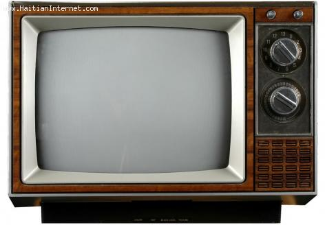 PHOTO: Old Television Set - Remember Public Televisions in Haiti?