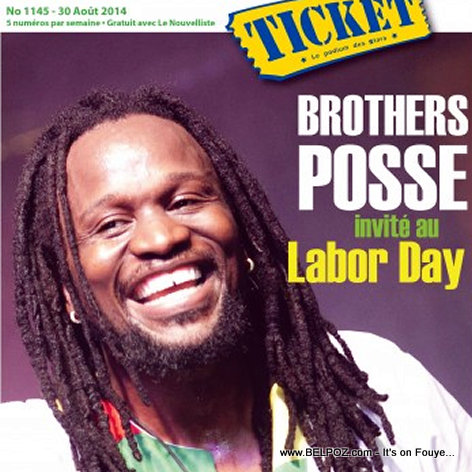 PHOTO: Haiti Don Kato sou Ticket Magazine, li pwal nan Labor Day Festival