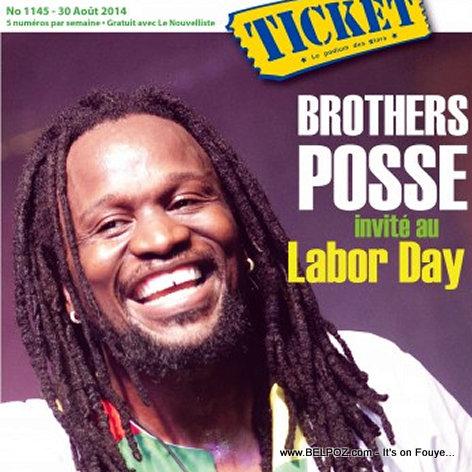 PHOTO: Haiti Don Kato sou Ticket Magazine, li pwal nan Labor Day Festival