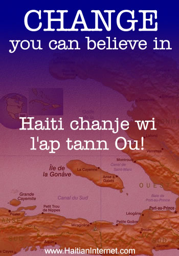 Haiti - Change You Can Believe In