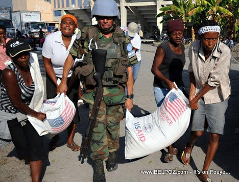 PHOTO: Haiti - MINUSTAH ap travay... LOL...