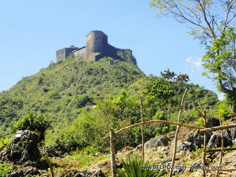 PHOTO: La Citadelle - Haiti Fortress 5 miles (8 km) uphill from the town of Milot