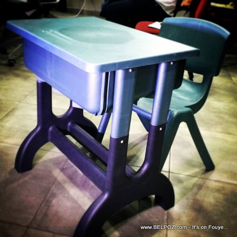 PHOTO: Classroom Furniture Made in Haiti (Mobilier Scholaire fabrique an Haiti)