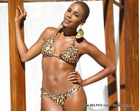 PHOTO: Carolyn Desert - Miss Haiti 2014