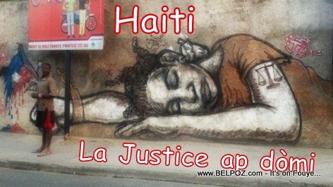 PHOTO: Haiti Justice - La Justice ap Dòmi