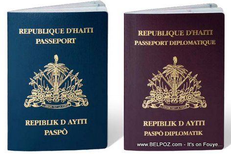 PHOTO - Haitian Passports