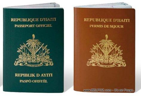 PHOTO - Haitian Passports