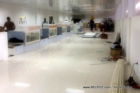 PHOTO: Haiti - Finishing touches inside Cap-Haitien International  airport