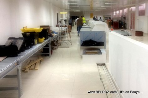 PHOTO: Haiti - Inside Aeroport International Cap-Haitien - Finishing Touches...