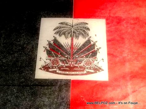 The Haitian Flag under the Duvalier Regime - Noir et Rouge