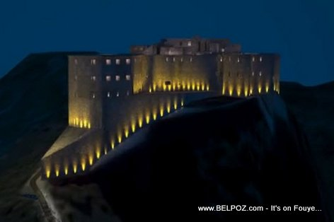 PHOTO: Haiti - Citadelle Laferriere TOU LIMEN, Travay la komanse...