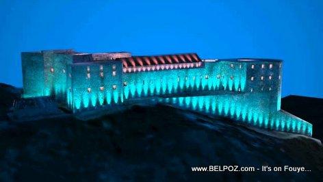PHOTO: Haiti - Citadelle Laferrière pwal KLERE ak lumière les soirs tres bientot