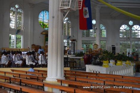 Church Ceremony - Charlemagne Peralte Death Anniversary 2014 - Hinche Haiti