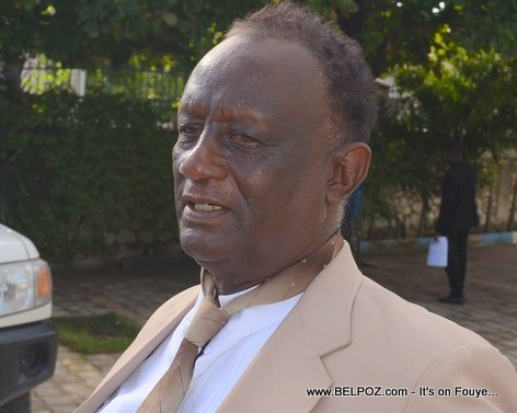 PHOTO: Neuveu Charlemagne Peralte nan ceremony lanmò li 31 Oktob 2014, Hinche Haiti