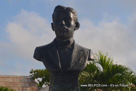 Charlemagne Peralte Statue - Hinche Haiti