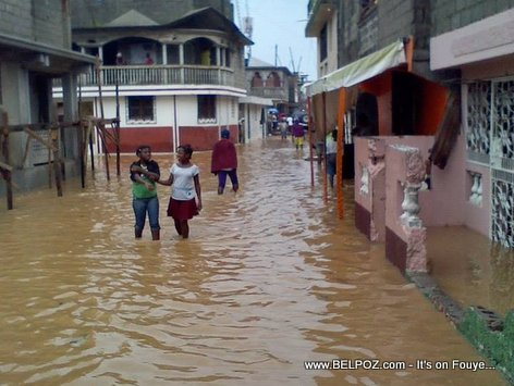 PHOTO: Haiti Inondation - Flooding in Cap Haitien