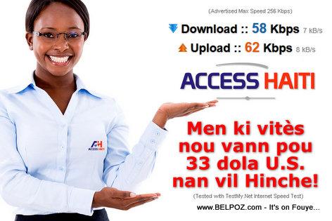 Haiti Internet Access - Alo ACCESS HAITI, Banm Volume...