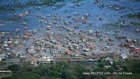 PHOTO: Haiti - Aerial View of Cap Haitien Flooding