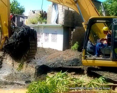 PHOTO: Haiti - Travay yo komanse nan Ville Cap-Haitien apre inondation an