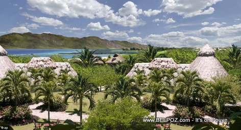 PHOTO: Haiti - Proposed Caribbean Luxury Resort in Cote-de-Fer