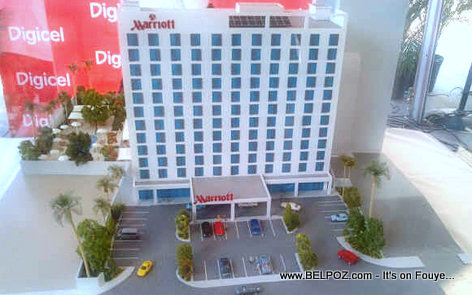Marriott Hotel in Haiti - Miniature Plan