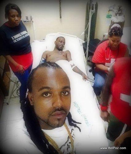 PHOTO: Haiti - Phantom Barikad Crew Lopital - Izolan avek li apre incident Haiti Kanaval 2015