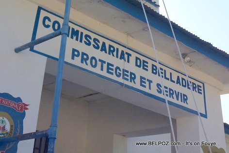 PHOTO: Belladere Haiti Police station - Commissariat de Belladere