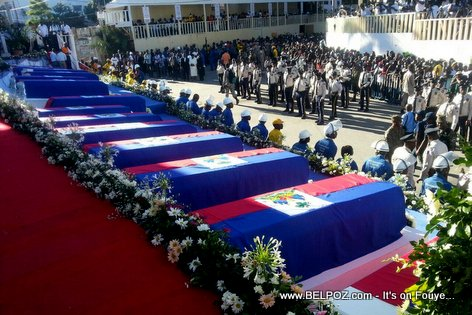 PHOTO: Haiti National Funeral for those who died in Kanaval 2015