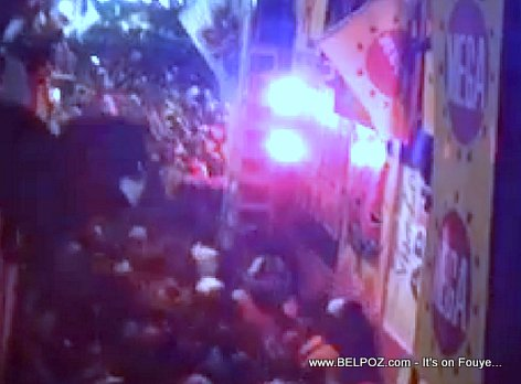 PHOTO: Haiti Kanaval Accident - 2 Seconds AFTER the incident