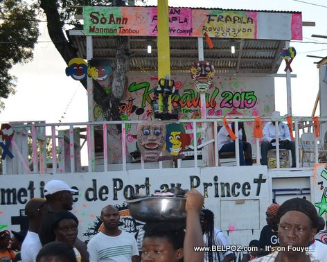 PHOTO: Cimetiere de Port-au-Prince Stand at Haiti Kanaval 2015