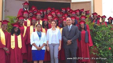 PHOTO: Haiti Graduation - Premiere Promotion Institut de Formation Hoteliere et Touristique des Cayes