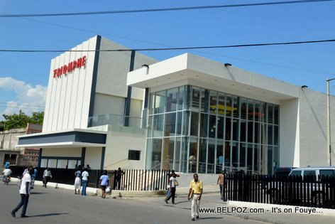 PHOTO: Haiti - Cine Triomphe, Newly Renovated